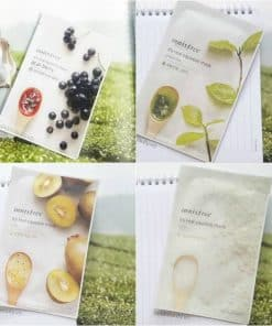 mat na giay innisfree its real squeeze mask 2