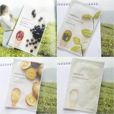 Mặt nạ innisfree my real squeeze mask