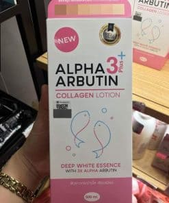 sua duong trang da alpha arbutin collagen collagen lotion 3plus 32626