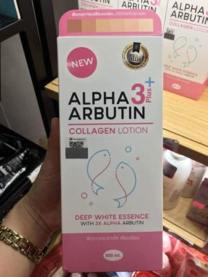 Alpha Arbutin Collagen Lotion 3+ Plus